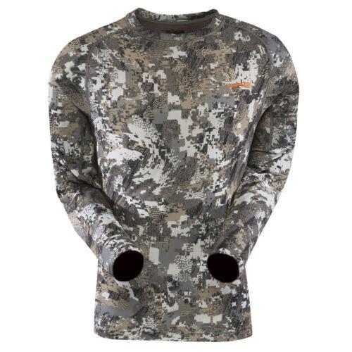 Sitka Optifade Elevated Ii Core Lightweight Crew Long Sleeve Shirt 10033-Ev