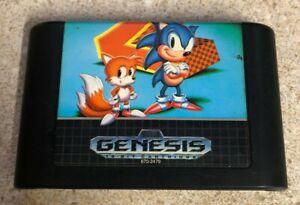Sonic The Hedgehog 2 Sega Genesis Cartridge Only Authentic 10086010510 Ebay