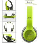 Wireless Bluetooth Sports Headphones Microphone Portable Stereo FM Headset P47