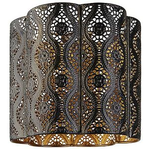 Modern black and gold moroccan light shade ceiling light pendant new image is loading modern black and gold moroccan light shade ceiling mozeypictures Image collections