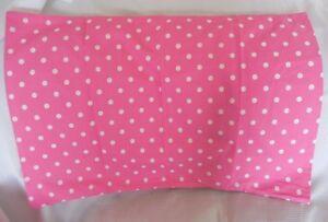 Pottery Barn Teen Kids Dottie Pink Pillowcase Standard