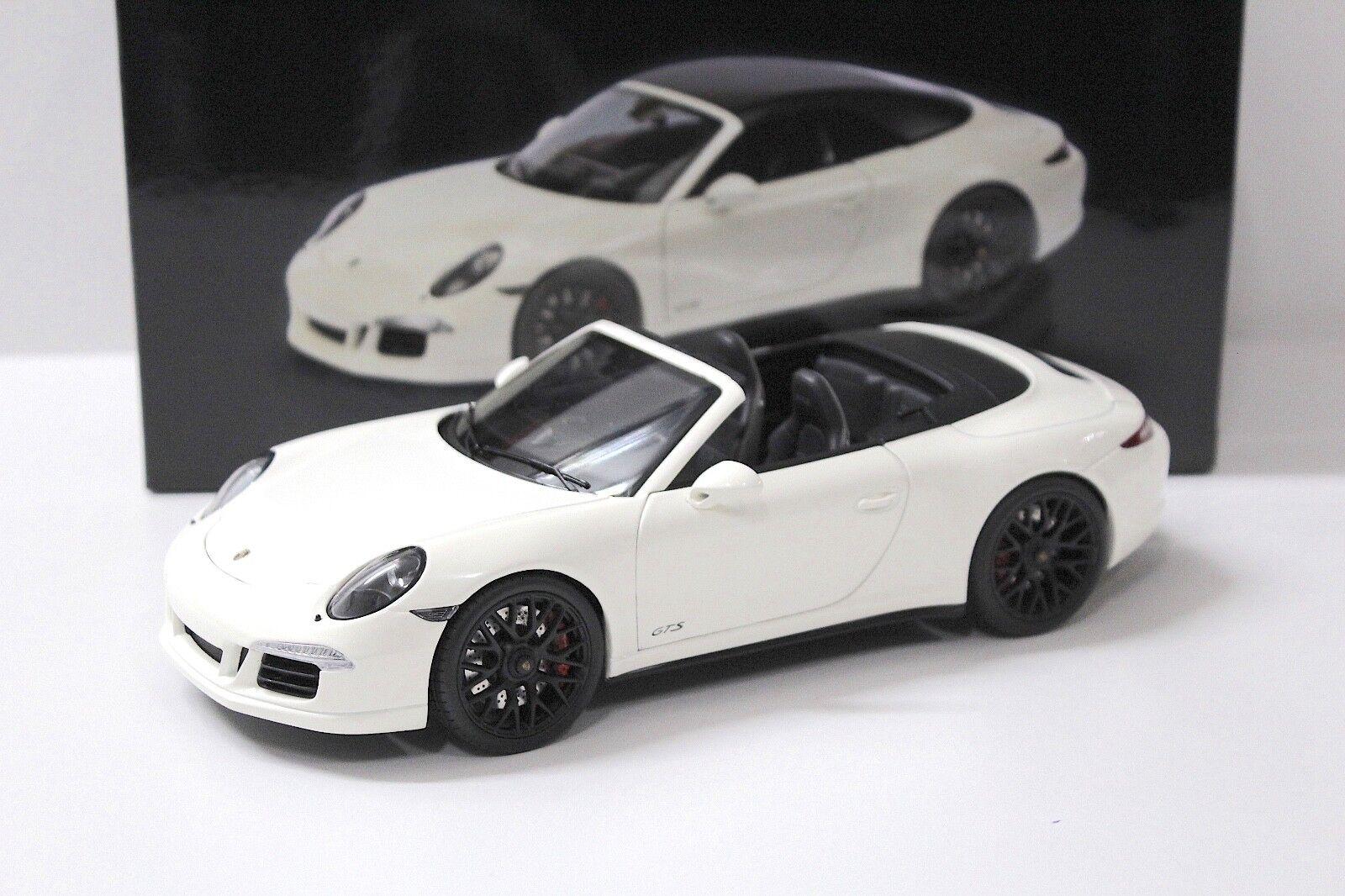 1 18 Schuco Porsche 911 (991) Carrera GTS Cabrio Weiß NEW bei PREMIUM-MODELCARS