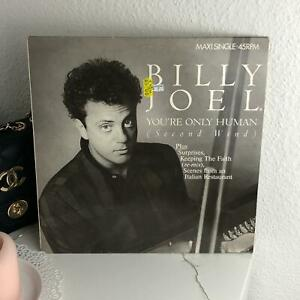 Billy-Joel-You-039-re-Only-Human-Second-Wind-1985-Vinyl-LP-Schallplatte