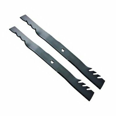 "2 Husqvarna 46/"" 596-370 OREGON® Gator Mulcher® G5™ Blades for Craftsman YT3000"