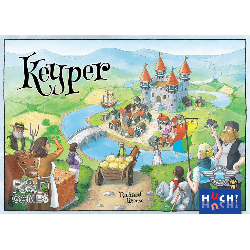 Keyper - Game Salute - Nuovo Board Game Brand Nuovo Sealed FREE SH