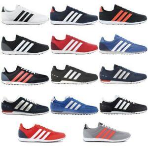 Adidas-City-V-Racer-2-0-Zapatillas-Estilo-Deportivas-para-Hombre-de-Ocio-Retro