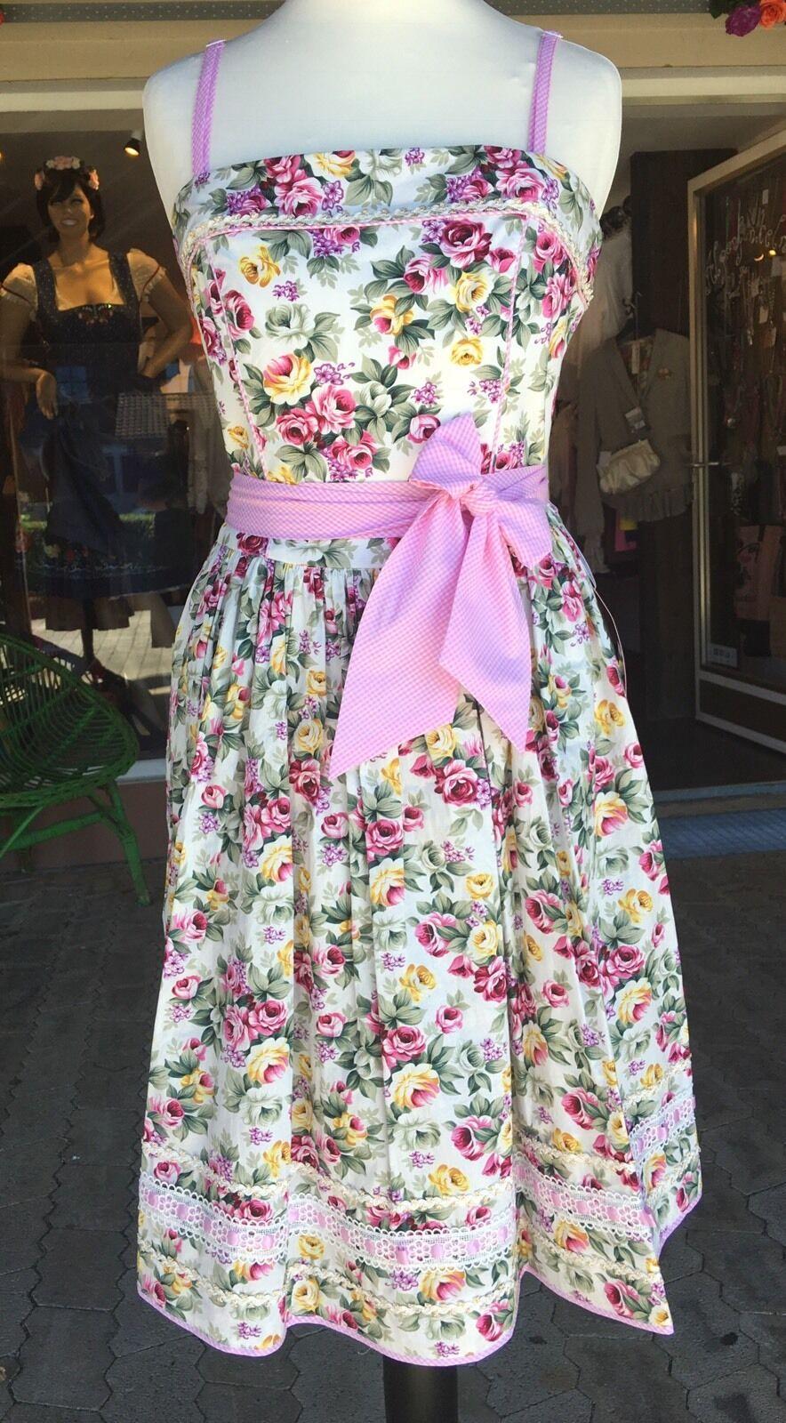 Krüger Madl Kleid, Sommerkleid, Dirndlkleid geblümt Lissabonn Gr 32 Trägerlos | Qualitätsprodukte  | Verkauf  | Die Königin Der Qualität