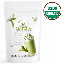 Traditional Matcha Green Tea Powder with Caffeine- USDA- 16 oz