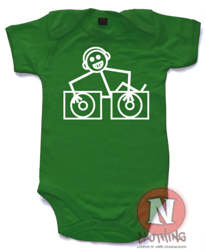 Hooj Toons Süß Strampler Baby Anzug Geschenk Weste Deejay Dj Club Ibiza Haus D/&b