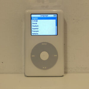 Apple iPod Photo Color Classic 4th Generation White (60 GB) A1099 - Good