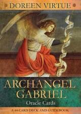 Archangel Gabriel Oracle Cards by Doreen Virtue, 44-Card Deck and Guidebook, New