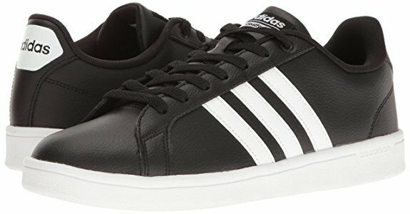 Men adidas NEO Cloudfoam Advantage Fashion Sneaker B74264 noir/blanc/blanc