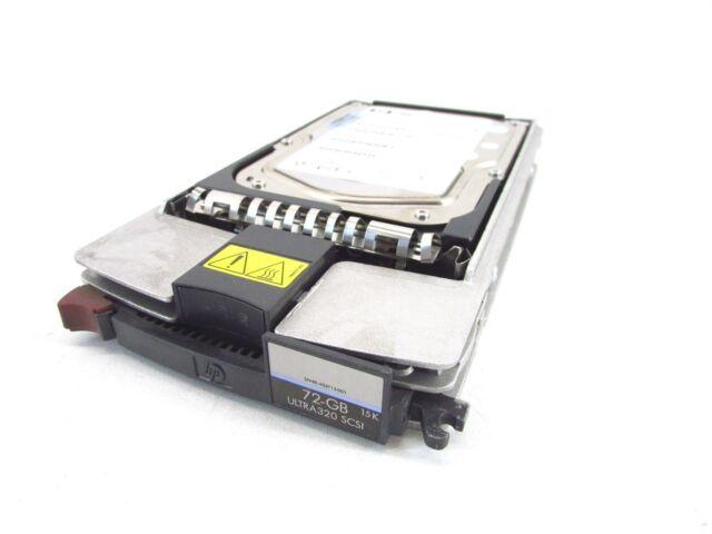 "5x HP HDD (BF07289BC4) Ultra 320 SCSI 72.8 GB 15k RPM, 3.5"" P/N:365699-008"