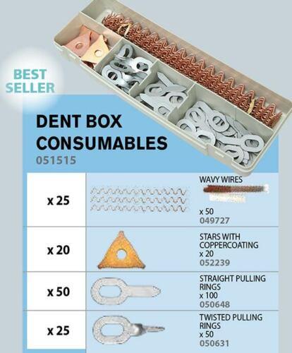 GYS GYSPOT Spotter Box Ausbeul Stahl Zubehörbox 120 teilig 051515