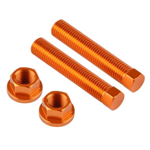 Billet M10 Chain Adjuster Bolt For KTM 250 300 350 450 505 525 530 EXC-F R 07-19