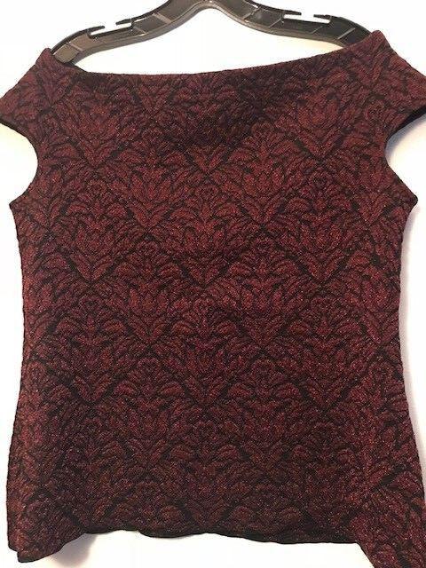 St John top  sweater, Malbec   caviar, Größe Large NWT, retail