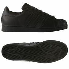 Adidas Superstar Nera 3s nere Uomo Af5666 44 23