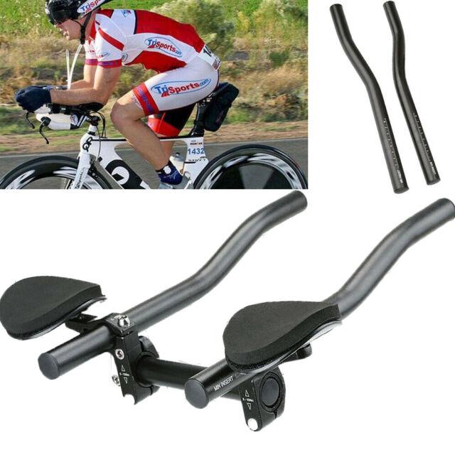 Mountain//Road BMX Bike Alloy Triathlon Aero Handle Bar Bicycle Outdoor Cycle