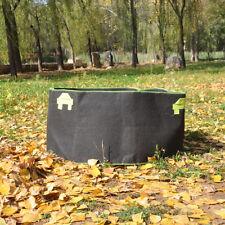 5PCS x 100 Gallon Fabric Grow Pots Grow Bags Smart Dirt Plant w 4 Nylon Handles