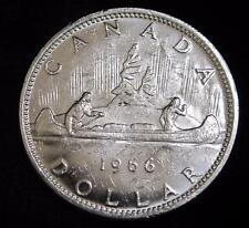 1966 Silver Canada Dollar * 80% Silver * Great for a Book!