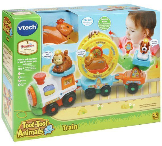 Vtech Toot-Toot Animals Train - 3 sing-along songs and 6 melodies  New in Box