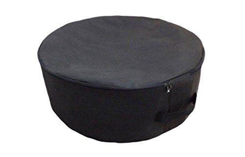 Xl Black Spare Tyre Tire Cover Wheel Storage Protective Bag Space Saver Car Van