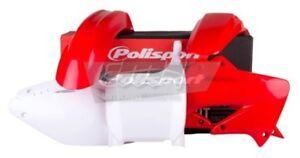 POLISPORT-SET-PLASTIQUE-COMPLET-CROSS-MX-BLANC-ROUGE-HONDA-CR-250-2002-2003