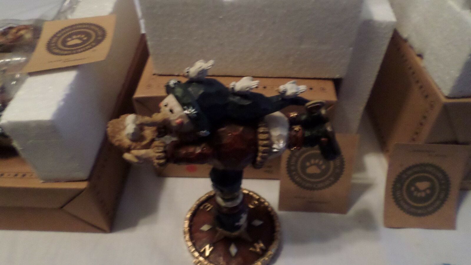 BOYDS BEARS CARVERS CARVERS CARVERS CHOICE LOT  9 NIB SET OF 4 DIFFERENT ITEMS 1a103d