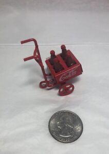 Details about Vintage Coca-Cola Red Wagon Die cast Miniature Figure Diorama