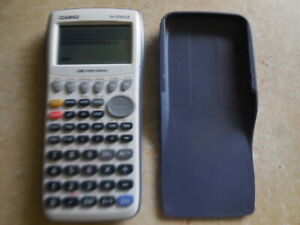 Casio-FX-9750GII-Graphing-Calculator-White-working-New-batteries