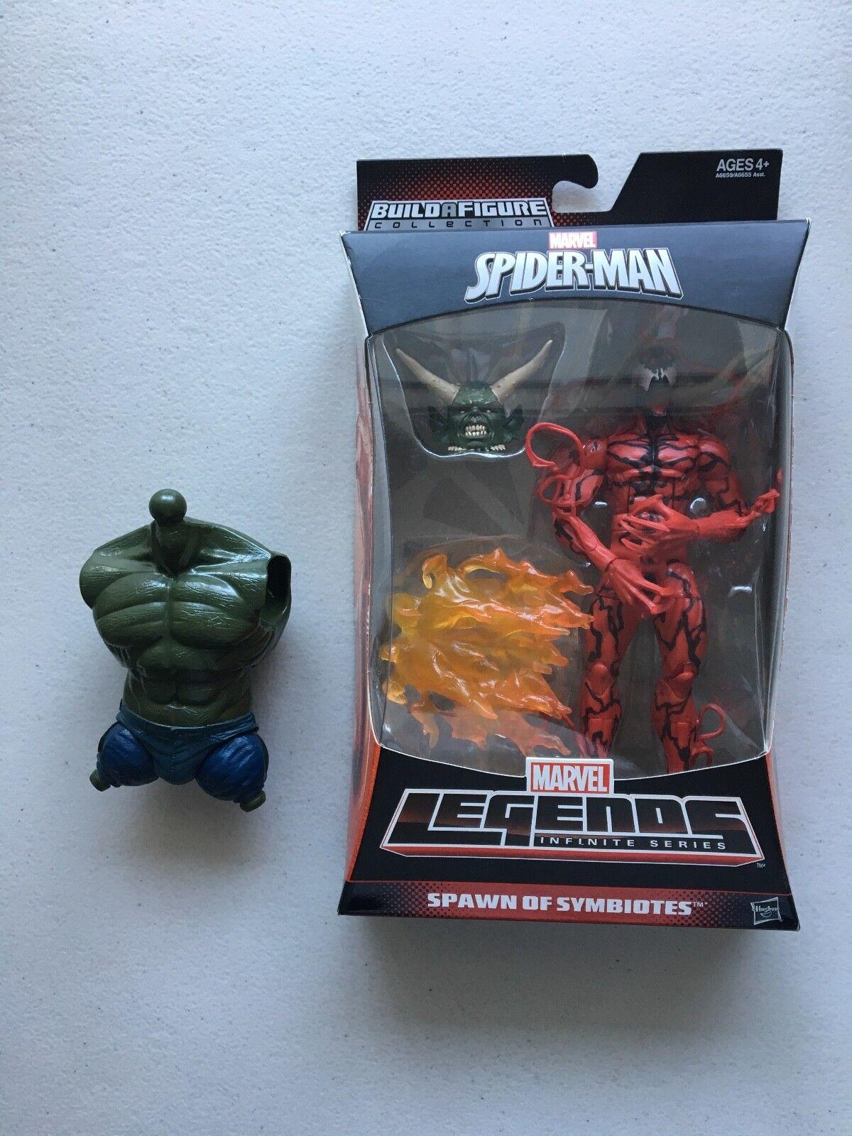 Blautbad marvel - legenden moc - ultimate Grün goblin baf + torso  spider - man  gift