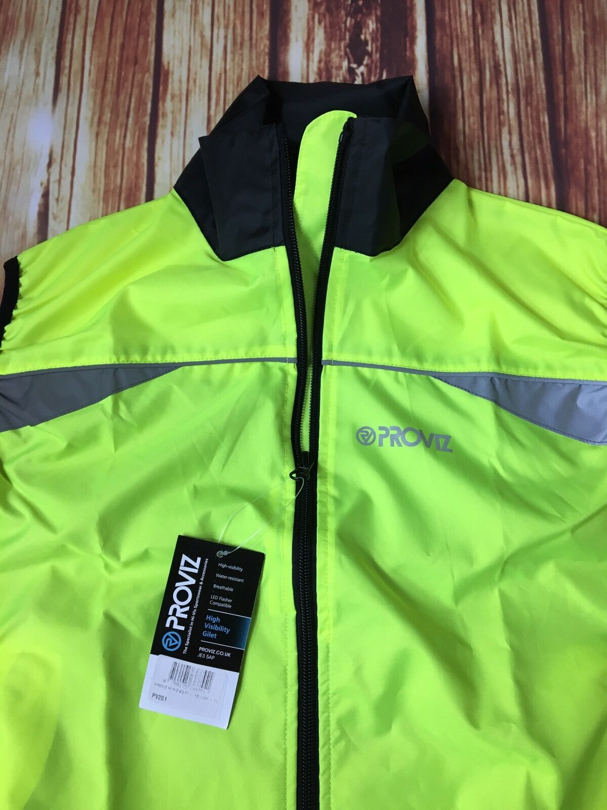 New PROVIZ  Reflect Womens 360  vest Yellow Size 12 with Free Shipping  new w tag  export outlet