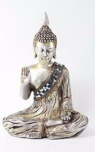 Image Is Loading Feng Shui 11 034 Silver Buddha Fear Not