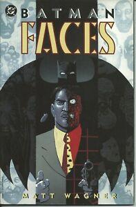 Simple Batman Faces ( 1° Printing ) - Dc 1995 ( Comics Usa ) MatéRiaux De Haute Qualité