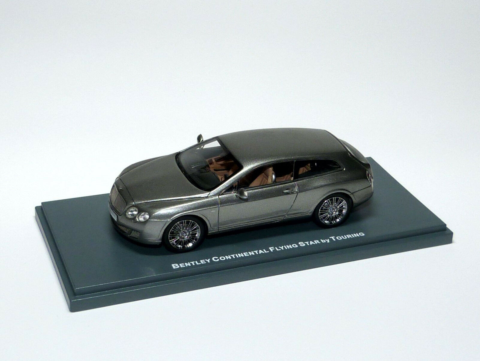 Bentley Continental Flying Star by Touring Silver Silver silver Neo 44215 1 43