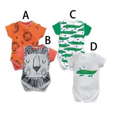 100% Cotton Bodysuit Baby Clothes Boy Girl Infant Bodysuit Rompers Jumpsuit