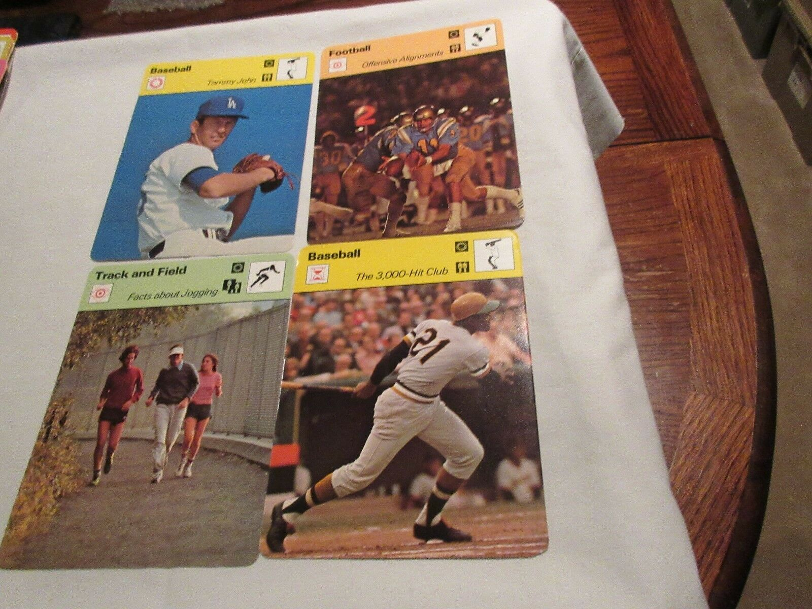 Sportscaster Cards 1978 , Deck # 32 Cards # 1-24 Tommy