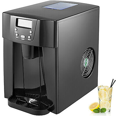 3 In 1 Countertop Ice Maker 12kg 26ibs Black Kitchen Cold Water