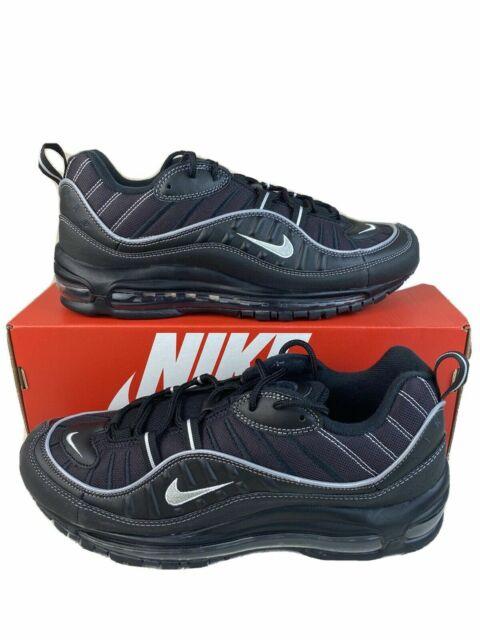 Size 13 - Nike Air Max 98 Black Silver 2019