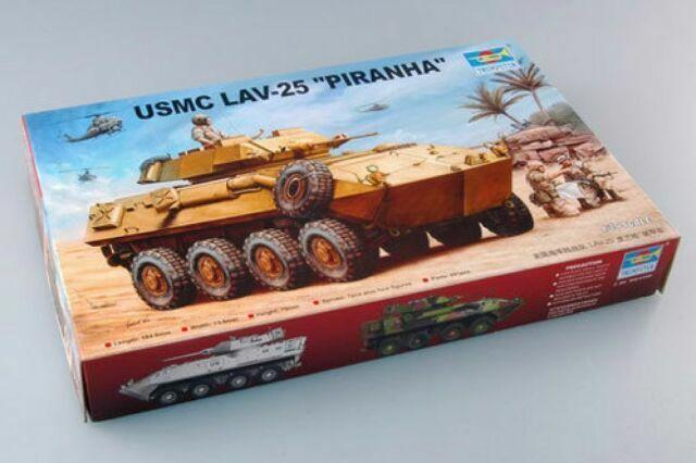 Trumpeter 1//35 00349 USMC LAV-25 Piranha