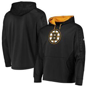 Image is loading Boston-Bruins-Black-Armor-Thermabase-Hooded-Sweatshirt -Hoody 9c6c60121eaa