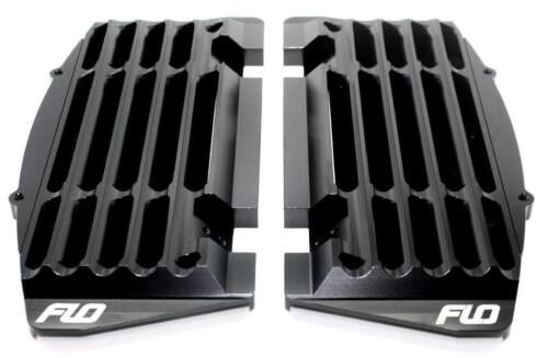 BLACK 2014-2019 Yamaha YZ250F YZ450F /_ FLO 753BLK Flo Radiator Guards