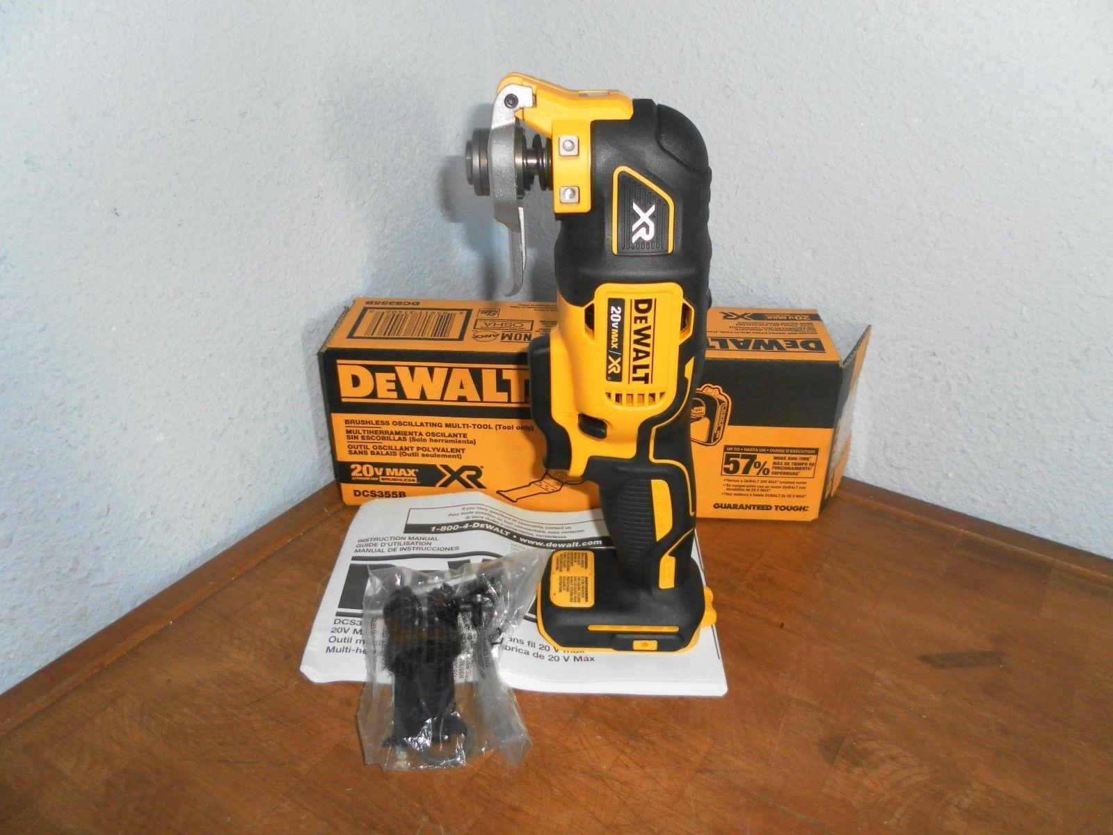 DeWalt DCS355B 20V XR Brushless Oscillating Multi-Tool (Tool Only) NEW