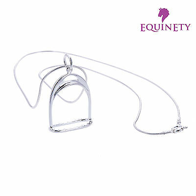 """February Amethyst Dew /""""Simply Sterling Silver/"""" Birthstone Necklace With Chain"""