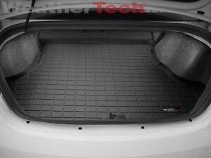 weathertech cargo liner trunk mat for chrysler 200 sedan 2011 2014 black ebay. Black Bedroom Furniture Sets. Home Design Ideas