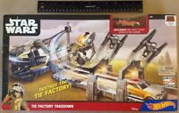 Disney Hot Wheels Star Wars The Factory Takedown Exclusive Ezra Vehicle