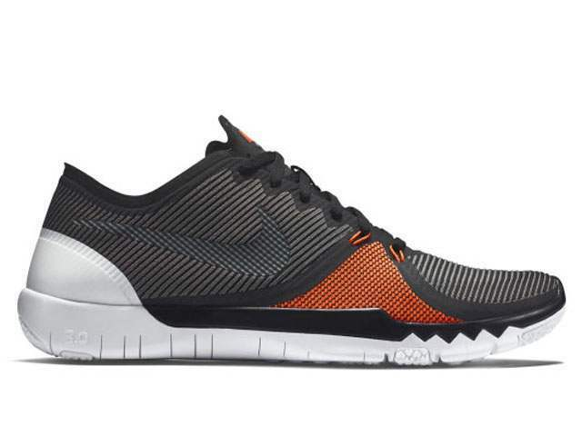 Nike Free Trainer 3.0 V4 Black/Orange Men's Running Training Shoes Size 15