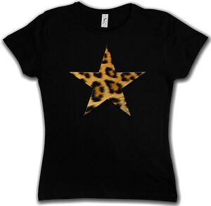 LEOPARD-FUR-STAR-LOGO-I-GIRLIE-SHIRT-Leo-Tattoo-Fell-Stern-Rockabella-Girl-Cat