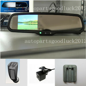 auto dimming rear view mirror 3 5 reversing lcd camera. Black Bedroom Furniture Sets. Home Design Ideas