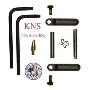 KNS-Pins-Anti-Walk-Pins-Non-Rotating-Gen-2-NRTHP-Plates-BLACK-154-Made-in-Texas